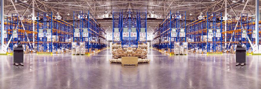 Location de plateformes de stockage et de logistique pour les entreprises